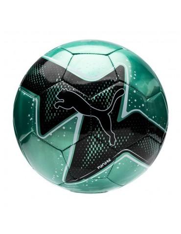 PUMA green and black soccer...
