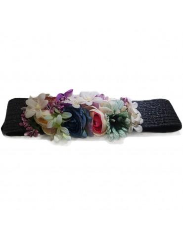 Cintura da donna con fiori...